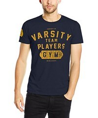Varsity Team Players Herren Mens T-Shirt-Navy