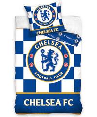 Carbotex Ložní povlečení Chelsea FC Checked 140x200cm, 70x80cm