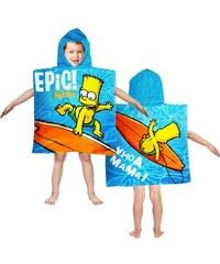 Poncho Simpsonovi Bart/60x120cm