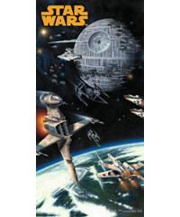 Plážová osuška Star Wars Spaceships 75/150
