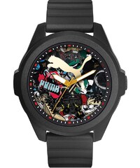 PUMA Quarzuhr »PU91131 Game - Black Graffiti, PU911311007«
