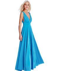 Goddess Dlouhé plesové šaty KAITLYN TURQUOISE Barva: Tyrkysová, /M