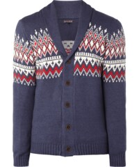 REVIEW Cardigan mit Ethno-Muster