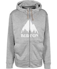 Burton Oak Hooded Sweat Zipper monument heather