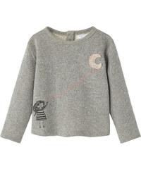 MANGO BABY Sweatshirt Mit Metallic-Garn