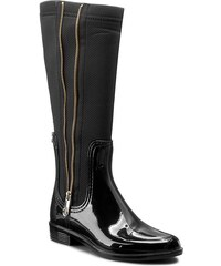Holínky TOMMY HILFIGER - Odette 5R FW56821554 Black 990