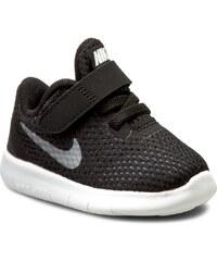 Boty NIKE - Nike Free Rn (Tdv) 833992 001 Black/Metallic Silver/Anthracite