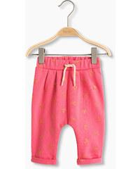 Esprit Pantalon chaud molletonné à cœurs