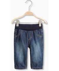 Esprit Měkké basic džíny, vysoký žebrovaný pas
