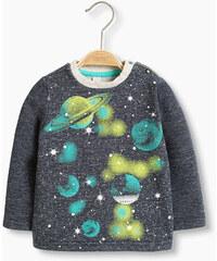 Esprit Sweat-shirt en coton mélangé à imprimé