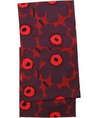 Běhoun Pieni Unikko 40x160, tmavě červený Marimekko