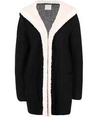 Černý cardigan s kapucí Vero Moda Ripley