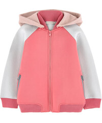 Stella McCartney Kids Neopren-Sweatshirt mit abnehmbarer Kapuze