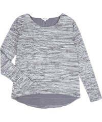 Review for Teens Strickshirt mit Saum im Double-Layer-Look