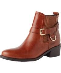 Carvela By Kurt Geiger Chelsea Boots mit Zier Riegel Saddle