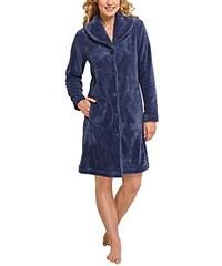 Schiesser Damen Bademantel Selected Premium Mantel, 95cm