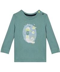 Esprit Kids Baby-Jungen T-Shirt RI1010C, Blau (Teal 370), 74