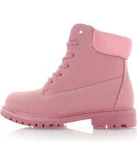 Vices Růžové kotníkové boty Workie