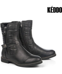Bottines en imitation cuir Keddo