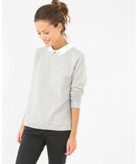 Pimkie Sweatshirt mit Schmuck-Kragen