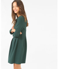 Robe patineuse manches 3/4 vert, Femme, Taille L -PIMKIE- MODE FEMME
