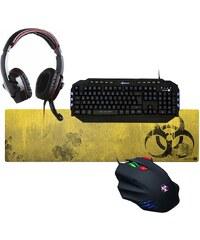 connect IT Gaming »connect IT BIOHAZARD Combo Elite Tastatur Mouse He«