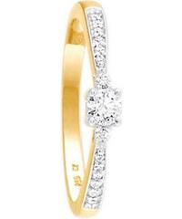 firetti Ring: Verlobungsring / Vorsteckring, Gelbgold