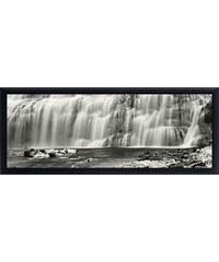 Premium Picture Schattenfugenbild »Wasserfälle«, 95/33 cm