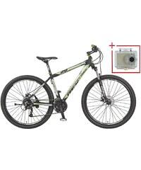REX Mountainbike »Bergsteiger 2.01«, 29 Zoll, SHIMANO Acera 24 Gang, inkl. Action-Cam