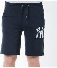Pánské kraťasy Majestic Athletic Desta Fleece Short New York Yankees navy