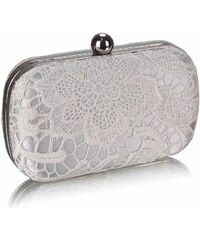 LS Fashion společenská kabelka LS0110 ivory