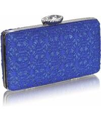 LS Fashion společenská kabelka LS0028 modrá