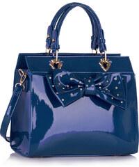 LS Fashion kabelka LS00384 modrá