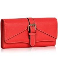 LS Fashion peněženka LSP1042 korálová