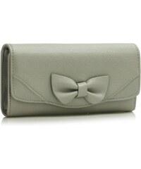 LS Fashion peněženka LSP1056A šedá