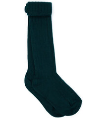Chaussettes Point Jersey - Vert Bouteille