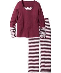 bpc bonprix collection Pyjama blanc manches longues lingerie - bonprix