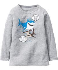 T-shirt à manches longues Monde de Dory gris enfant - bonprix
