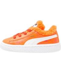 Puma BASKET Baskets basses dandelion/vibrant orange/black