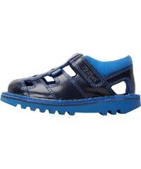Kickers Junior Sundal Shoe Dark Blue/Yellow
