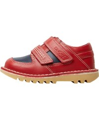Kickers Junior Spacerise Leather Shoe Dark Red/Dark Blue