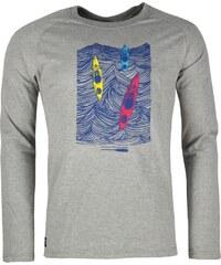Pánské bavlněné tričko s dlouhým rukáve Rejoice - Lamium (šedé)