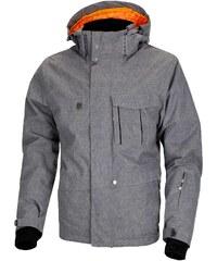 Pánská zimní bunda Woox - Twill Men´s Jacket Grey VOL II