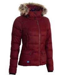 Dámská zimní bunda Woox - Fog Twill Ladies´ Jacket Red