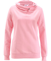 bpc bonprix collection Sweatshirt langarm in rosa für Damen von bonprix