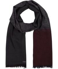 Calvin Klein Schal in dreifarbigem Design