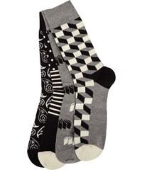 Happy Socks Strümpfe mit Muster im 4er-Pack