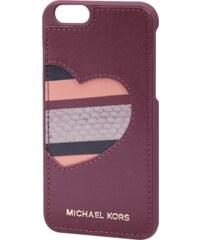 MICHAEL Michael Kors iPhone 6 Case mit Besatz aus echtem Leder