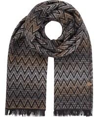 Bogner Schal mit Zickzack-Muster