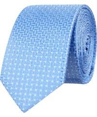 Olymp Level 5 Krawatte aus Seide mit Webmuster